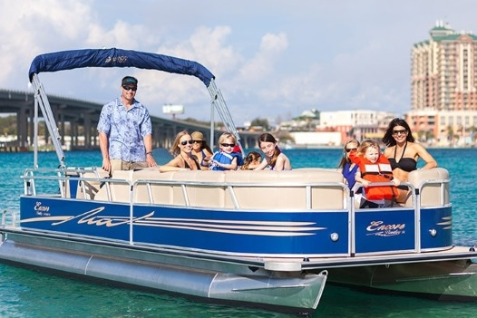 Destin Pontoon Boat Rentals